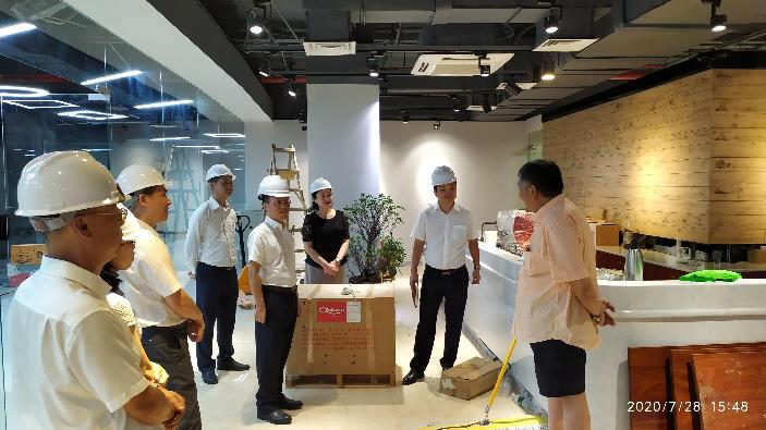 广州商控集团领导到展贸城项目调研指导图片1.png